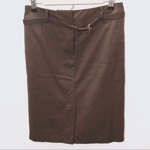 50%OFF Sale! LOFT Stretch Brown Pencil Skirt
